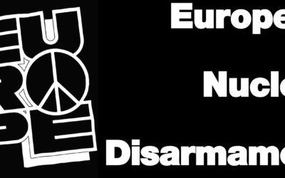 Ο Νίκος Χουντής συνυπογράφει την έκκληση του κινήματος για τον Ευρωπαϊκό Πυρηνικό Αφοπλισμό