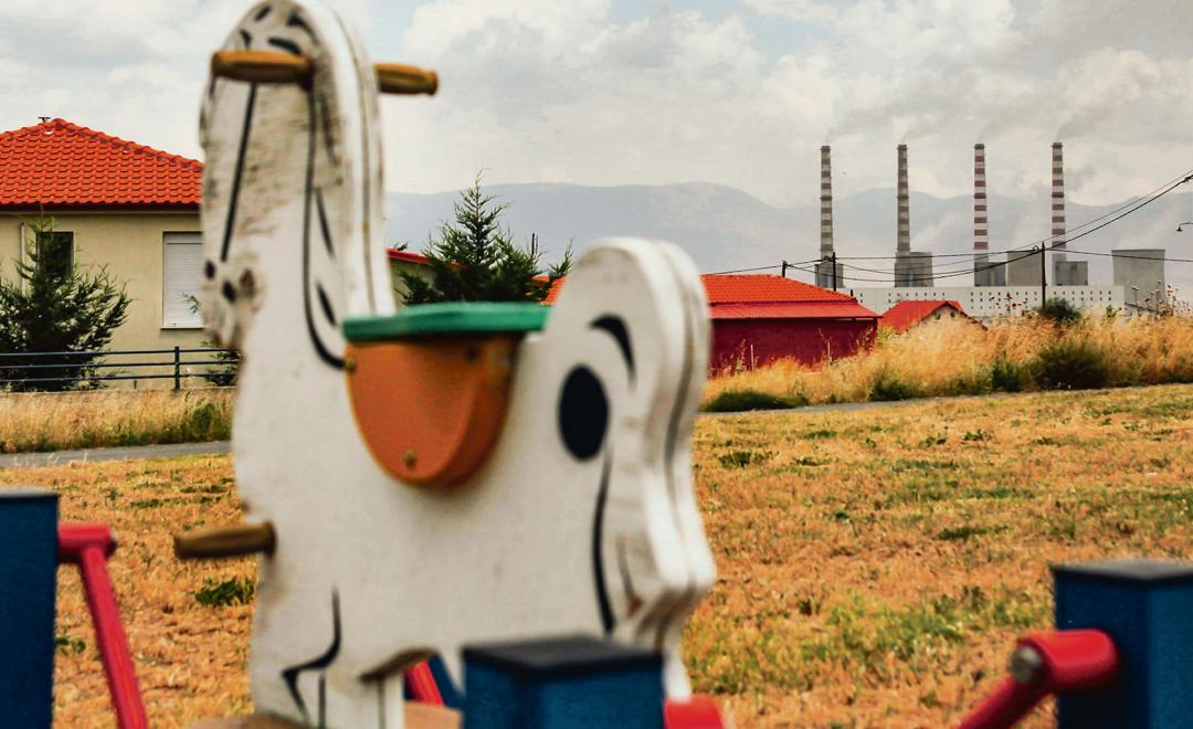 Επιστολή  N.Χουντή προς Επίτροπο Περιβάλλοντος για τη μετεγκατάσταση του οικισμού Ακρινής Κοζάνης